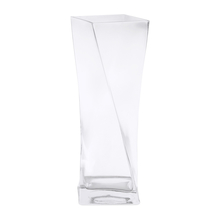 Twister Vase - @home by Nilkamal, Clear