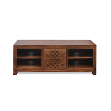 Annulus Low Height TV Unit - @home By Nilkamal,  walnut