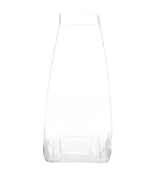 Spatial Small Glass Vase -@home by Nilkamal, Clear