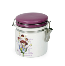 Ceramic Small Jar, Purple