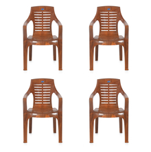 Nilkamal CHR6020 Chair Set of 4 - Mango Wood