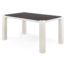 Fortis 4 Seater Dining Table - @home Nilkamal,  white