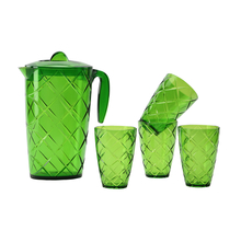 Lemon Set of 5 - @home Nilkamal,  green