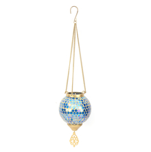 Pendant Hanging Votive - @home by Nilkamal, Indigo