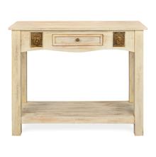 Buddha Console Table - @home Nilkamal,  white