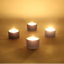Ambient Votive Glass Set of 4 - @home by Nilkamal, Indigo