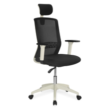Nilkamal Nixon High Back Office Chair, Black & White
