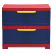 Nilkamal PP Chester Storage Drawer Series 12, Pepsi Blue