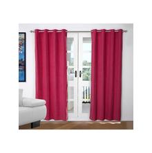 Opus 2 Pieces Door curtain 112X214CM, Rasberry