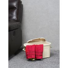 Ratan Storage 20 Litre Box with Lid, Beige