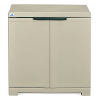 Nilkamal Freedom Mini Small Storage Cabinet Fms, Pestle Green/Grey