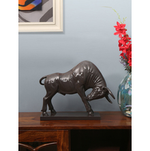 Bull Showpiece, Brown