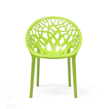Nilkamal Crystal PP Chair - Lime Green
