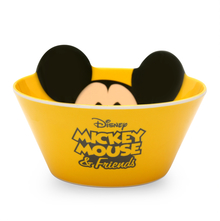 Mickey Conical 470 ml Snack Bowl - @home by Nilkamal, Yellow