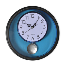 Pendulum Wall Clock - @home by Nilkamal, Black