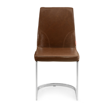 Walt Dining Chair - @home by Nilkamal, White with Walnut