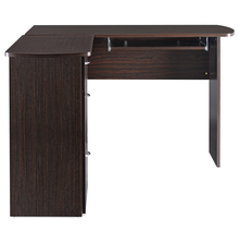 Nilkamal Croma Executive Office Table, Black & Walnut
