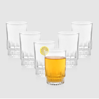 6 Piece Exotic Water Tumbler - @home Nilkamal