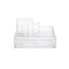 Acrylic Cosmetic Top Storage with Drawer Organiser, Clear