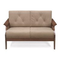 Gia 2 Seater Sofa - @home by Nilkamal, Wenge