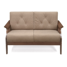 Gia 2 Seater Sofa - @home by Nilkamal, Wenge