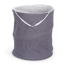 Floral Laundry Bag with Mesh Top - @home by Nilkamal, Peach