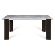 Astec 6 Seater Dining Table - Cement