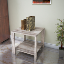 Kale Side Table - @home by Nilkamal, Dark Oak