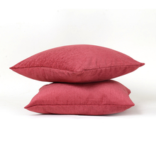 Moshi 60 cm x 60 cm Cushion Cover Set of 2 - @home by Nilkamal, Maroon
