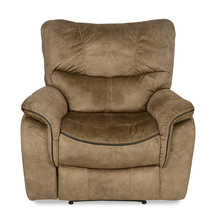 Iris 1 Seater Sofa with Manual Recliner - @home by Nilkamal, Tuscan Brown