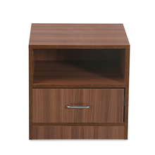 Champion Night Stand - @home by Nilkamal, Walnut