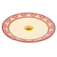 Earthy Wine Dinner Plate - @home by Nilkamal