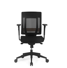Nilkamal Pinnacle Mid Back Office Chair,  black