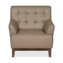 Lisbon 1 Seater Sofa, Light Brown