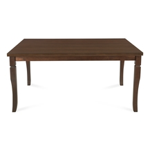 Polita 6 Seater Dining Table, Espresso