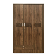 Leaf 3 Door Wardrobe, Wenge