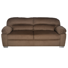 Nilkamal Alexander 3 Seater Sofa, Brown