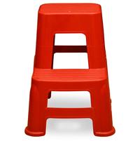 Nilkamal Step Stool 21, Bright Red
