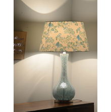 Concept Mosaic Glass Table Lamp, Sea Green