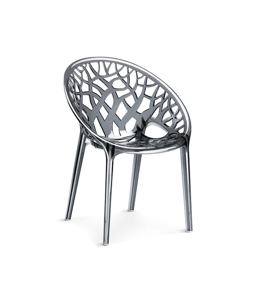 Crystal PC Chair Dream - @home Nilkamal,  grey
