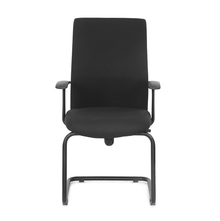 Nilkamal Optima Mid Back Visitor Chair, Black