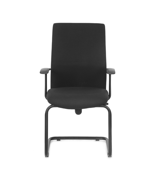 Nilkamal Optima Mid Back Visitor Chair, Black