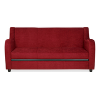 Gregory 3 Seater Sofa, Cleo Red