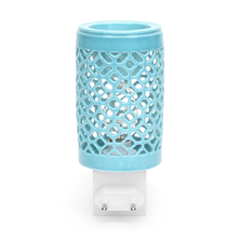 Jali Electrical Plugin Diffuser 5cmX5cmX8cm - @home by Nilkamal, Sea Green