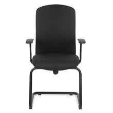 Nilkamal Gary Mid Back Visitor Chair, Black