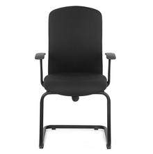 Nilkamal Gary Mid Back Visitor Chair, Black