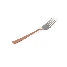 Stainless Steel 19CM Set of 3 Dessert Fork, Copper