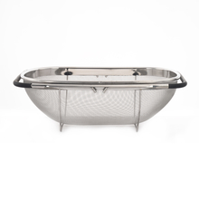 Sink Stainless Steel Basket - @home by Nilkamal, Silver