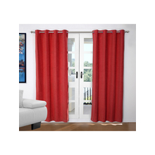 Opus 2 Pieces Door curtain 112X214CM, Red