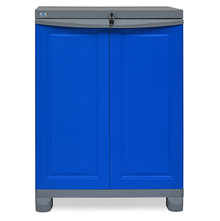 Nilkamal Freedom Storage Unit FS1, Dark Blue/Grey